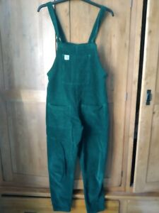 Lucy and Yak Original Dungarees Green Xs30 8 / 10