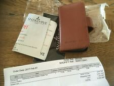 Samsung Galaxy S4 Mini Snakehive cartera tan