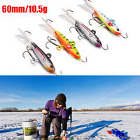 60mm/10.5g New Sale Spoon Metal Lures Ice Fishing Lures Hard Bait Fishing Tackle