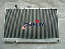 Aluminum Radiator For Mitsubishi LANCER EVO 4 5 6 MT TURBO 96-00 97 98 99 00