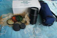 MC APO Telezenitar-K 300mm F/4.5 lens for PENTAX mount! RARE!!