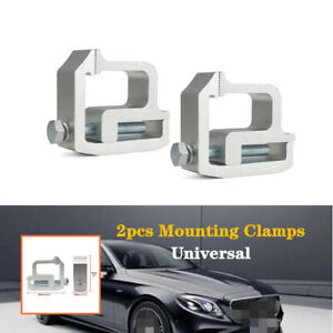 Sliver Car Modified Shell Heavy Duty Clip Roof Cover Camper Mounting Clip Trims