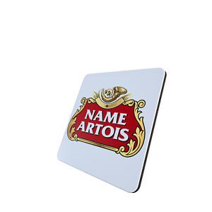 Personalised Stella Artois Coaster, single, 2 pack or 4 pack