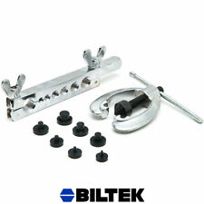 10pc Brake & Air Line Double/Single Flare Tool Set Gas Brake Air Line Repair Kit