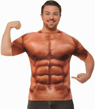 Adult 3D Sublimation Printed Muscle T-Shirt Muscle Man Size Standard