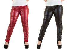 Markenlose Damenhosen im Chinos-Stil in Übergröße
