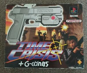 Time Crisis & NAMCO G Con Gun 45 in Box with AV Adapter. PAL