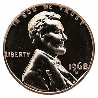 1968-S Lincoln Memorial Cent Penny Gem Proof US Mint Coin Uncirculated UNC