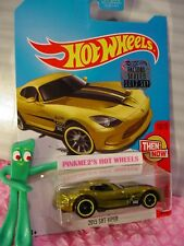 2013 SRT VIPER∞2017 Hot Wheels SUPER TREASURE HUNT∞Yellow;RealRiders☆FACTORY SET