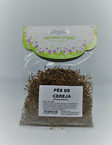 Cherry Stem Tea Loose Leaf 6 x 50 gr - Organic Natural Teas - From Portugal