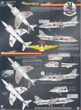 Aztec Decals 1/72 HAWKER HARRIER RAF & NATO & Spain
