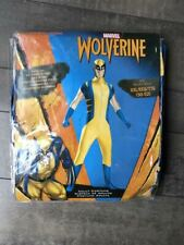 Wolverine Deluxe Adult Bodysuit Marvel Comics Costume XXL NEW