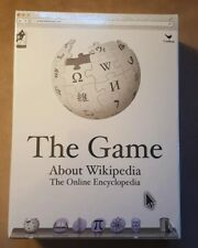 NEW Sealed WIKIPEDIA The Game About Everything.  Ages 8 and up.   Sw5