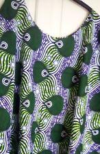 African print Kaftan poncho maxi dress size 26-30