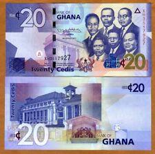 Ghana, 20 Cedis, 2017, P-New, UNC