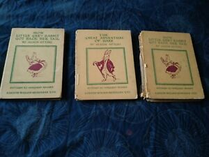 Little Grey Rabbit Vintage Books By Alison Uttley 1945 and 1952
