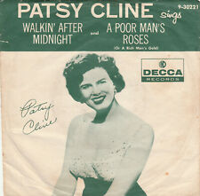 Patsy Cline 45 RPM On Decca 9-30221 Records