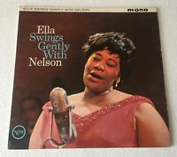 ELLA FITZGERALD ~ SWINGS GENTLY WITH NELSON RIDDLE ~ 1962 UK MONO VINYL LP