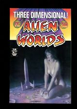THREE DIMENSIONAL ALIEN WORLDS 3D 1 (9.2) W/ GLASSES ART ADAMS JONES PC (B058)