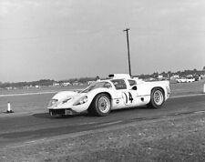 Vintage 8 X10 1967 Daytona Chaparral 2D Johnson / Jennings