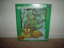 1026 PC. BUFFALO GAMES (WRITTEN IMAGES - TIMBER WOLF) JIGSAW PUZZLE (NEW)