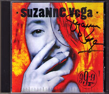 Suzanne VEGA Signiert 99.9 F° CD Blood Makes Noise In Liverpool Autograph Signed