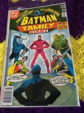 BATMAN FAMILY #16 Giant, Batgirl Detective and Robin the DC Comics 78
