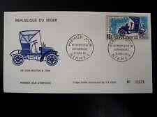 NIGER  AERIEN 107   PREMIER JOUR FDC     DEDION BOUTON 1904      45F      1969