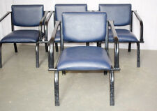 Metal Frame Low Seating Reception Staff Waiting Room Easy Chair - Seats - Chairs