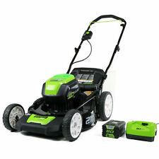 "Greenworks (21"") 80-Volt Lithium-Ion 3-In-1 Cordless Electric Lawn Mower (wit..."