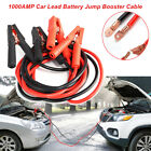 1000amp Auto Trucks Car Lead Battery Jump Booster Cable Start Emergency Jumper