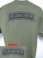 ARMY RANGER T-SHIRT/ MILITARY/ VETERAN/ NEW