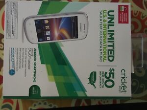 SAMSUNG GALAXY DISCOVER SCH-R740C (WHITE) CRICKET SMARTPHONE AS IS NOT ACTIVATE