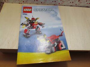 Instructions lego Creator 5764 Instructions