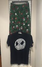 = Men's Nightmare Before Christmas Two Piece Set Pajamas Medium
