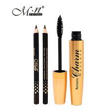 1 Charming Thicken Curling Eyelash Mascara + 2 Eyeliner Pencil Black / Brown