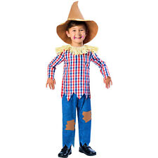 Childs Scarecrow Kids Book Week Fancy Dress Outfit Costume Age 3-4 Years