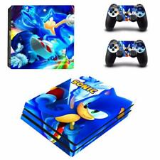 Sonic the Hedgehog PS4 Pro Console Skin Set Decal Vinyl Skin Decal Sticker Cover