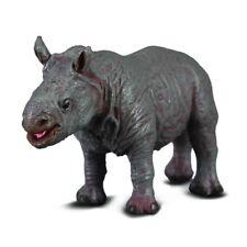 New CollectA 88089 White Rhinoceros Calf Safari Toy Model Figure White Rhino