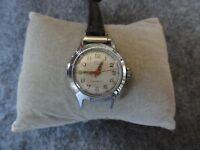 Ladies Vintage Swiss Made Arlton 17 Jewels Incabloc Wind Up Watch - Problem