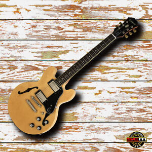 Epiphone ES339 PRO Compact Semi Hollow Electric Guitar Natural NEW Last One!