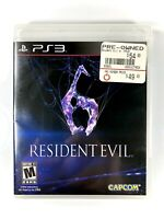 FREE SHIPPING🔥 Resident Evil 6 PS3 (Sony Playstation 3) No Manual, Disc VGC