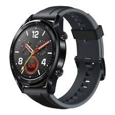 Huawei Watch GT GT-B19S Sport Smartwatch black Sportuhr Graphite Black WOW!