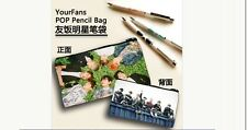 Bangtan Boys BTS Photo Pencil Case Cosmetic Pouch Make-up bag KPOP Star school