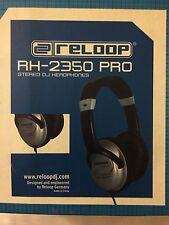 SALE! Reloop RH-2500 Pro Headphones Closed Professional Dj Silver LAST ONE!
