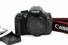 Canon EOS 650D 18.0 MP Digital SLR Camera body - Shutter count 8,298