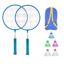 Kids Badminton Racket Set Boys Girls Training Playing Outdoor Toy With Balls/Bag