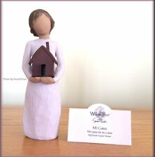 MI CASA MY HOUSE FIGURINE FROM WILLOW TREE® ANGELS FREE U.S. SHIPPING