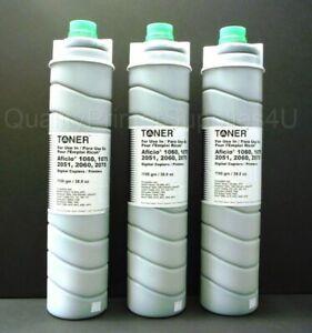 Lot 3 New Ricoh Toner Compatible Cartridge Type 6110D 841332 Aficio 1060 1075