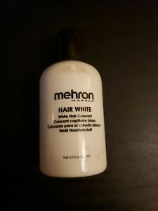 Hair White Liquid Makeup - 4.5 oz - Santa Claus - Elderly - Theatrical Makeup